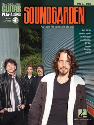 Guitar Play-Along Volume 182 - Soundgarden Soundgarden laflutedepan