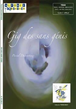 Gig Des Sans Génis Pascal Ducourtioux Partition laflutedepan