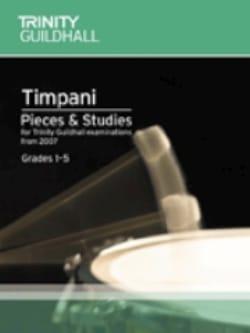 Timpani - Pieces & Studies - Grades 1-5 Partition laflutedepan