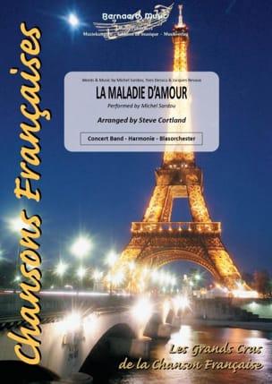 La maladie d'amour Michel Sardou Partition ENSEMBLES - laflutedepan