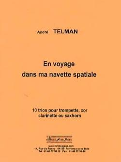 En Voyage dans Ma Navette Spatiale André Telman Partition laflutedepan