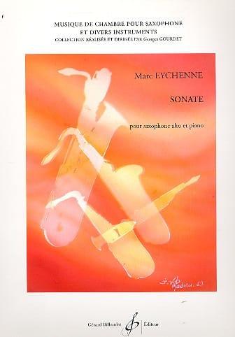 Sonate - Marc Eychenne - Partition - Saxophone - laflutedepan.com