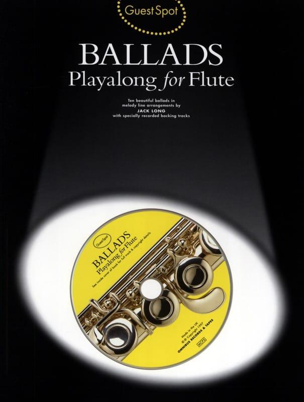 Guest Spot - Ballads Playalong For Flute - laflutedepan.com