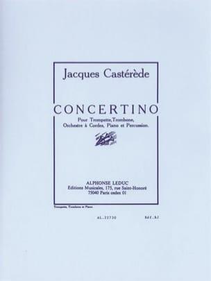 Concertino Jacques Castérède Partition laflutedepan