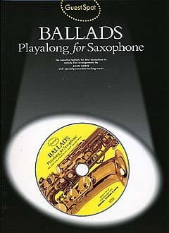 Guest Spot - Ballads Playalong For Saxophone Partition laflutedepan