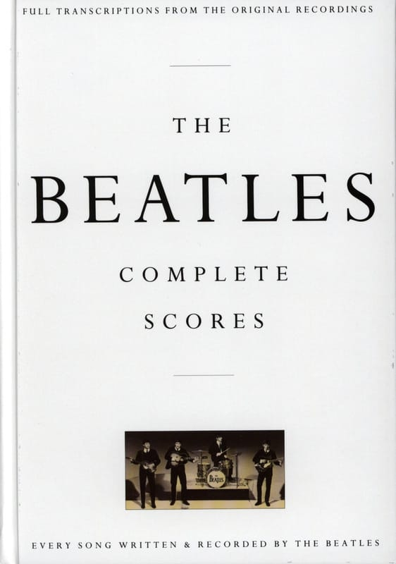 The Beatles Complete Score - Box Edition - BEATLES - laflutedepan.com