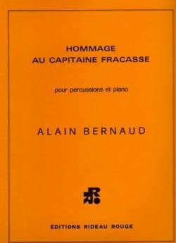 Hommage Au Capitaine Fracasse Alain Bernaud Partition laflutedepan
