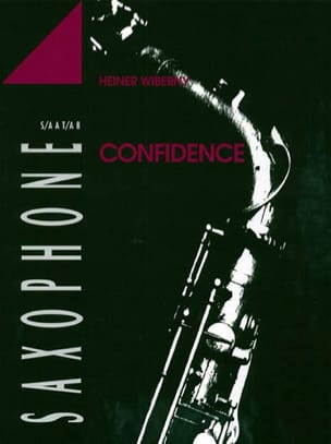 Confidence Heiner Wiberny Partition Saxophone - laflutedepan