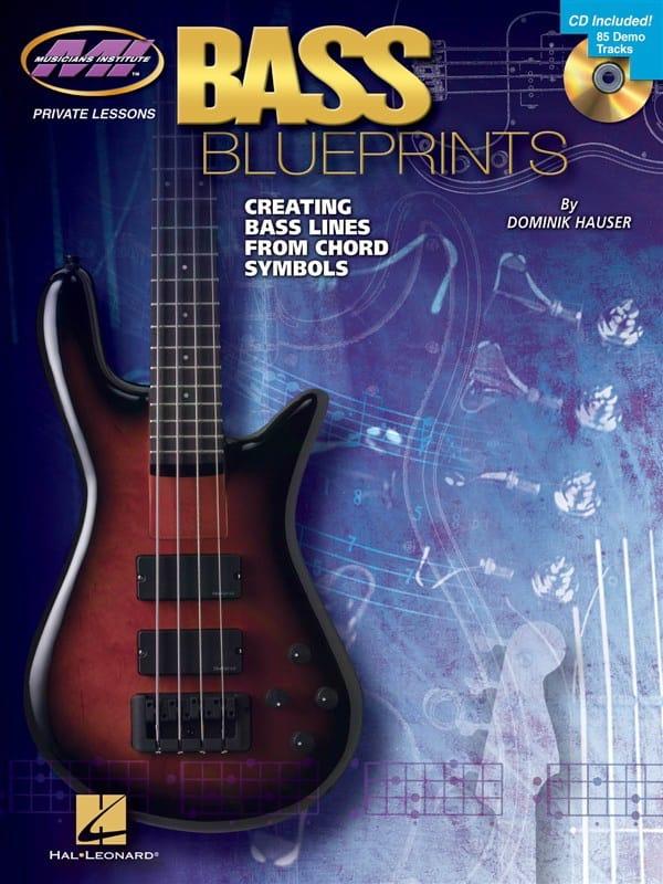 Bass Blueprints - Dominik Hauser - Partition - laflutedepan.com