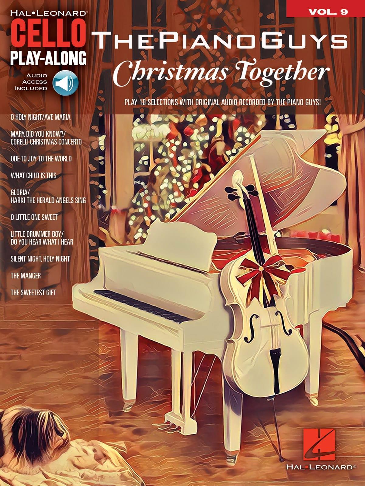 Cello Play-Along Volume 9 - The Piano Guys – Christmas Together - laflutedepan.com