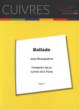 Jean Brouquières - Ballad - Partition - di-arezzo.co.uk