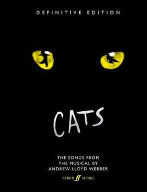 Cats - Definitive Edition Andrew Lloyd Webber Partition laflutedepan