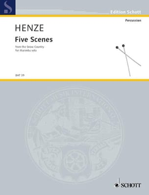 Five Scenes From The Snow Country Hans Werner Henze laflutedepan
