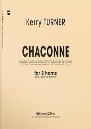 Chaconne Kerry Turner Partition Cor - laflutedepan