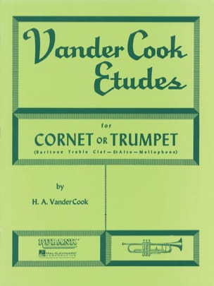 Vandercook Etudes For Cornet or Trumpet - laflutedepan.com