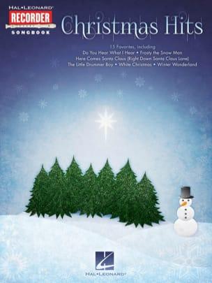 Christmas Hits for Recorder Noël Partition Flûte à bec - laflutedepan