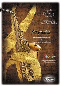 Rapsodie (saxophone alto et ensemble de saxophones) - laflutedepan.com