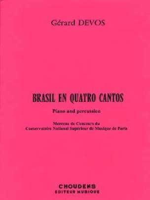 Brasil En Quatro Cantos - Gérard Devos - Partition - laflutedepan.com