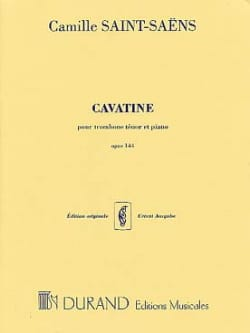 Camille Saint-Saëns - Cavatina - Partition - di-arezzo.es