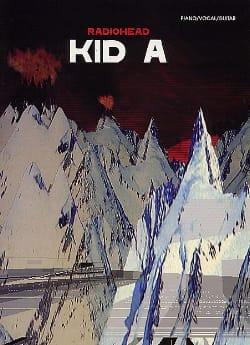 Kid A Radiohead Partition Pop / Rock - laflutedepan
