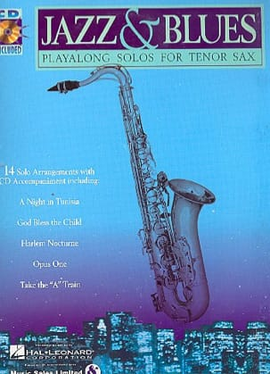 Jazz & Blues Partition Saxophone - laflutedepan