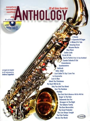 Anthology Volume 1 Partition Saxophone - laflutedepan