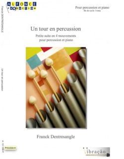 Un tour en percussion Franck Dentresangle Partition laflutedepan