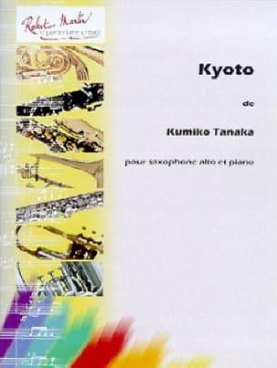 Kyoto - Kumiko Tanaka - Partition - Saxophone - laflutedepan.com