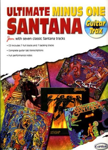 Ultimate Minus One - Guitar Trax - Carlos Santana - laflutedepan.com