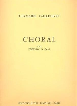 Choral Germaine Tailleferre Partition Trompette - laflutedepan