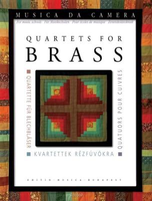 Quatuors pour cuivres - Pour école de musique Partition laflutedepan
