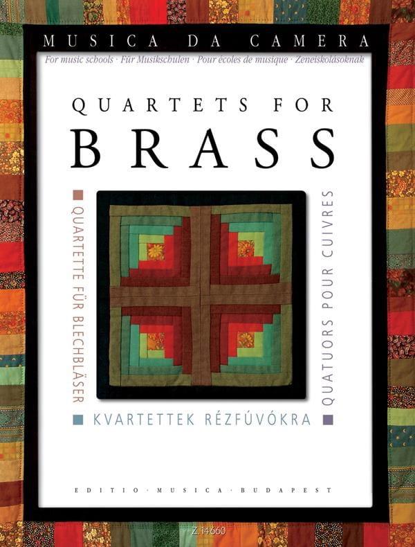 Quatuors pour cuivres - Pour école de musique - laflutedepan.com