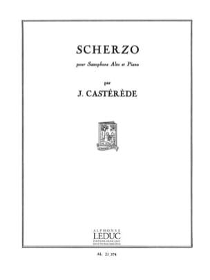 Scherzo - Jacques Castérède - Partition - Saxophone - laflutedepan.com