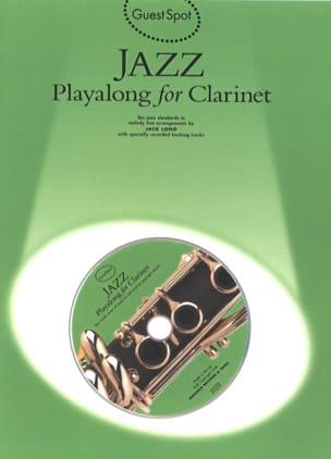 Guest Spot - Jazz Playalong For Clarinettte Partition laflutedepan