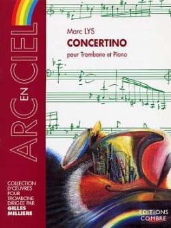 Concertino Marc Lys Partition Trombone - laflutedepan