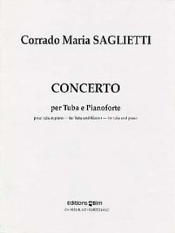 Concerto Corrado Maria Saglietti Partition Tuba - laflutedepan