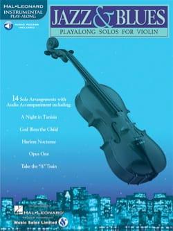 Jazz & Blues Partition Violon - laflutedepan