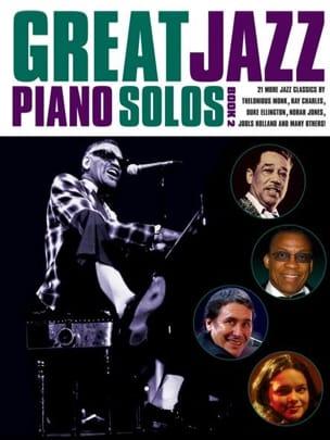 Great Jazz Piano Solos - Book 2 Partition Jazz - laflutedepan