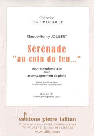 Serenade au coin du feu... Claude-Henry Joubert Partition laflutedepan
