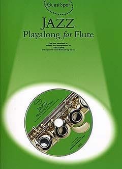 Guest Spot - Jazz Playalong For Flute Partition laflutedepan