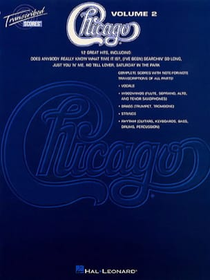 Chicago Volume 2 - 12 Great Hits Chicago Partition laflutedepan