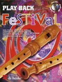 Play Back Festival Partition Flûte à bec - laflutedepan