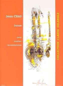 Danse Jean Cras Partition Saxophone - laflutedepan