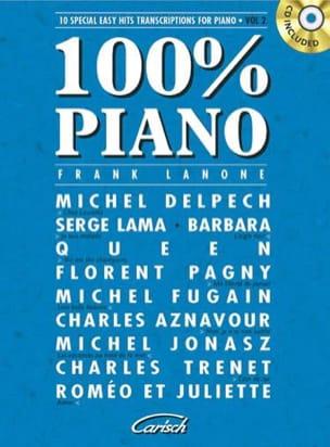 - 100% piano volume 2 - Partition - di-arezzo.co.uk