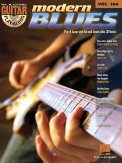 Guitar play-along volume 166 - Modern blues Partition laflutedepan
