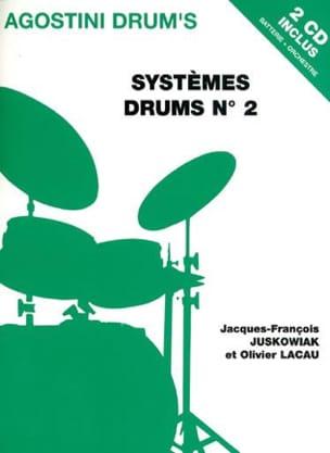 Systèmes drums N° 2 Juskowiak J.F. / Lacau O. Partition laflutedepan