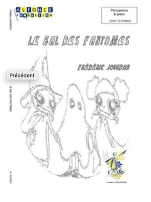 Le Bal des Fantomes Frédéric Jourdan Partition laflutedepan