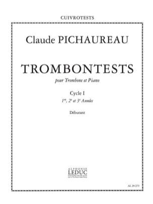 Trombontests Claude Pichaureau Partition Trombone - laflutedepan