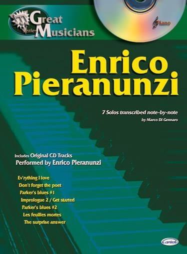 Série Great Musicians - Enrico Pieranunzi - laflutedepan.com