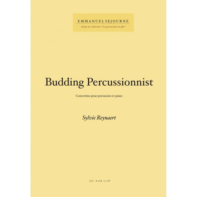 Budding Percussionnist - Sylvie Reynaert - laflutedepan.com